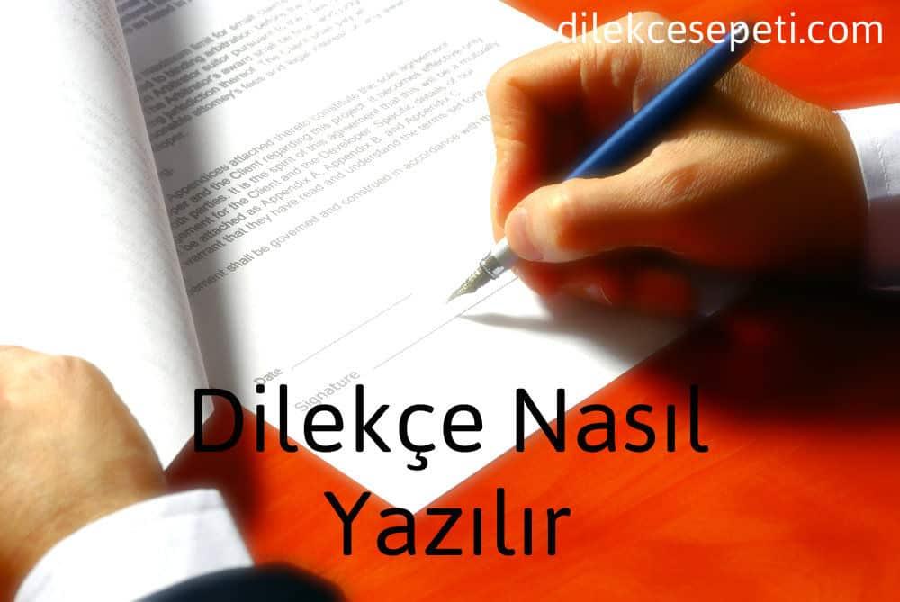 Dilekçe yazma