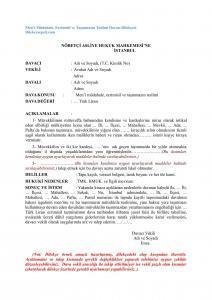 ecrimisil taşınmaz teslim davası