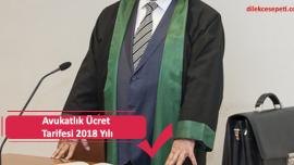 Avukatlık Ücret Tarifesi 2019 Yılı