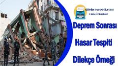 Deprem Sonrası Hasar Tespiti Nasıl Yaptırılır