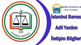 İstanbul Barosu Adli Yardım Avukat Arama İletişim