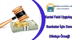 Kartel Faizi Uygulayan 12 Banka Dava Dilekçe Örneği