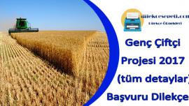Genç Çiftçi Projesi 2019 Başvuru Dilekçesi