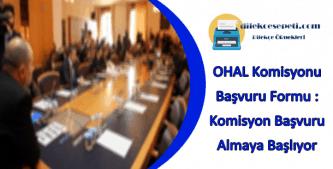 ohal komisyon başvurusu