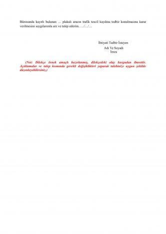 tedbir talebinde bulunma dilekçesi sayfa 2