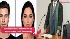 Anlaşmalı Boşanma Ücreti Masrafları Ne Kadar Tutar (Tüm İhtimaller)