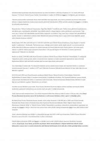 elektrik kayıp kaçak yargıtay emsal kararı