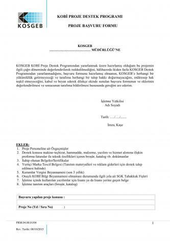 kosgeb başvuru sayfa 1
