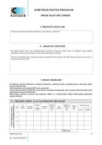 kosgeb başvuru sayfa 9