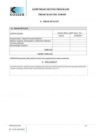 kosgeb başvuru sayfa 11