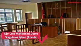 Ağır Ceza Mahkemesi Dosya Sorgulama İşlemi (Anında)