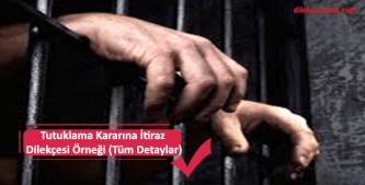 tutuklama kararına itiraz