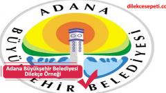 Adana Büyükşehir Belediyesi Dilekçe Örneği ve İşlemler