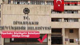 Diyarbakır Büyükşehir Belediyesi Dilekçe Örneği