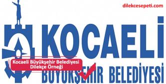 kocaeli belediyesi dilekçesi