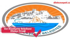 Van Büyükşehir Belediyesi Dilekçe Örneği (Talep, İletişim, vs)
