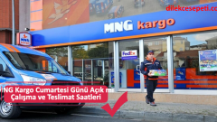 MNG Kargo Cumartesi Günü Açık mı Çalışma ve Teslimat Saatleri