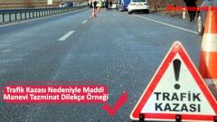 Trafik Kazası Nedeniyle Maddi Manevi Tazminat Dilekçe Örneği