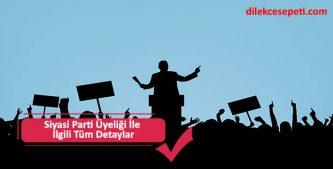 siyasi parti üyeliğinden istifa etme