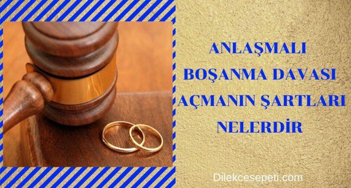 Anlaşmalı Boşanma Davası Açmanın Şartları Nedir